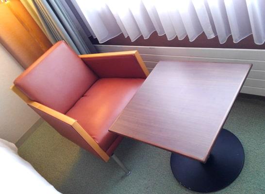 ニセコスキー場 ノーザンリゾート・アンヌプリ ホテル 部屋 口コミ テーブル