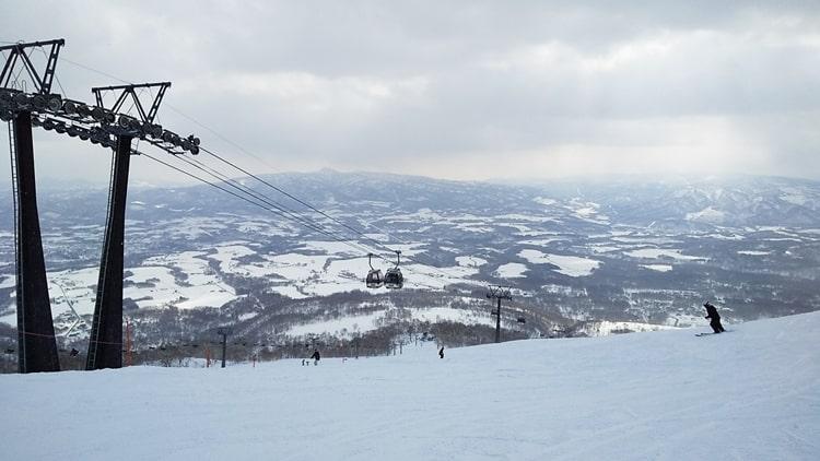 ニセコアンヌプリ国際スキー場 コース ゴンドラ 積雪 天気 全山リフト券 割引 ホテル