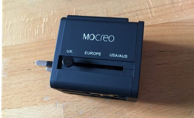 MOCREO®安全旅行充電器 海外旅行用変換プラグ UK