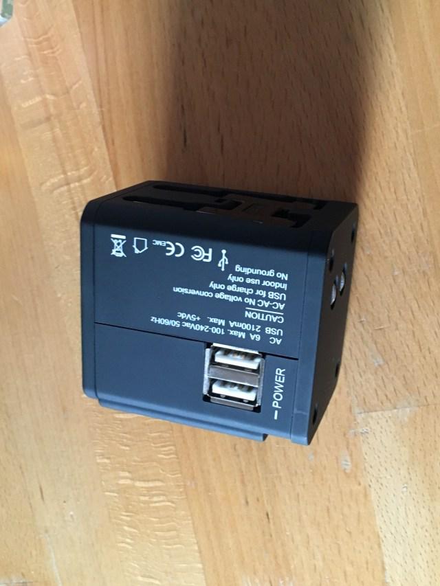 MOCREO®安全旅行充電器 海外旅行用変換プラグ USB
