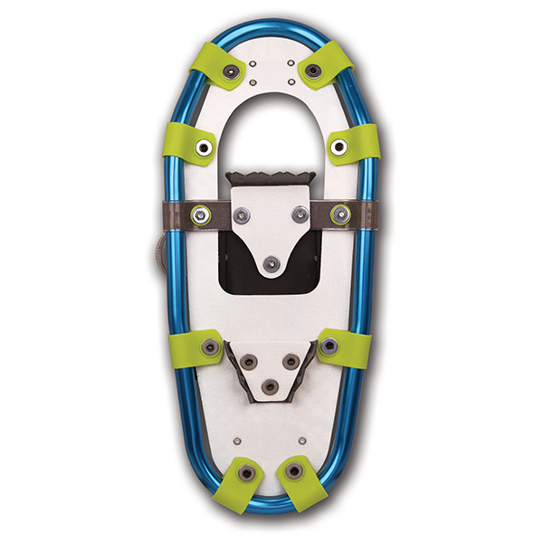 Jr Series Aluminum Snowshoes (bottom view)