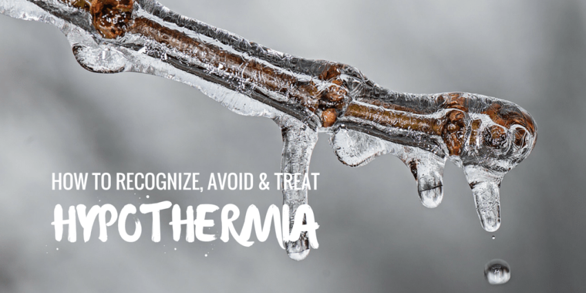 how to recognize hypothermia