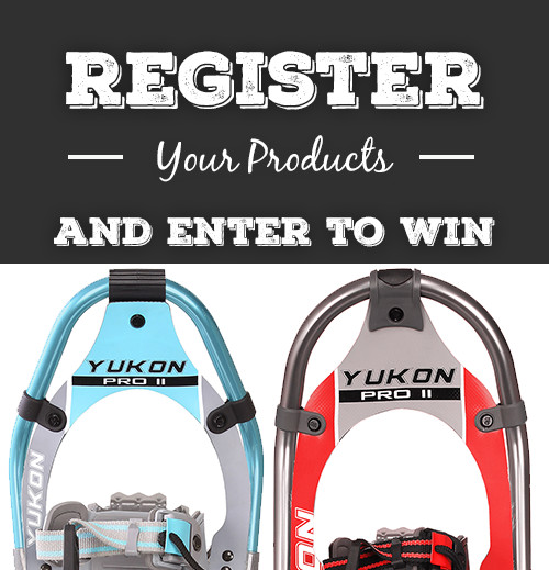 Yukon advertisement to register your product and enter to win