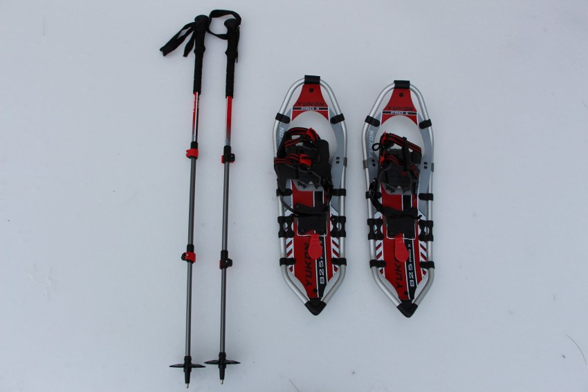 Snowshoes & Poles