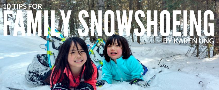 Tips for Family Snowshoeing