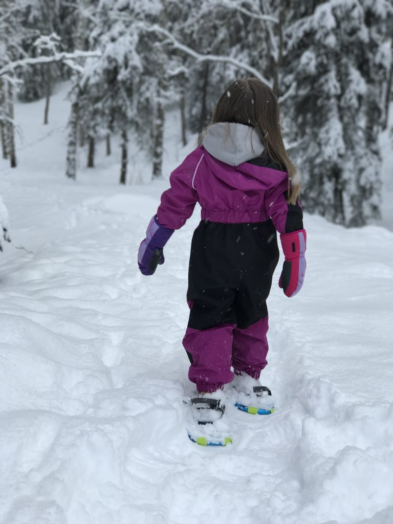 Let the Kids Lead When Snowshoeing