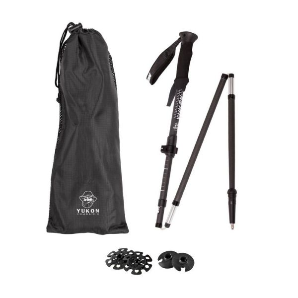 Carbon Lite Flipout Snowshoe Hiking Poles - Yukon Sports FW18-19 Products-001007