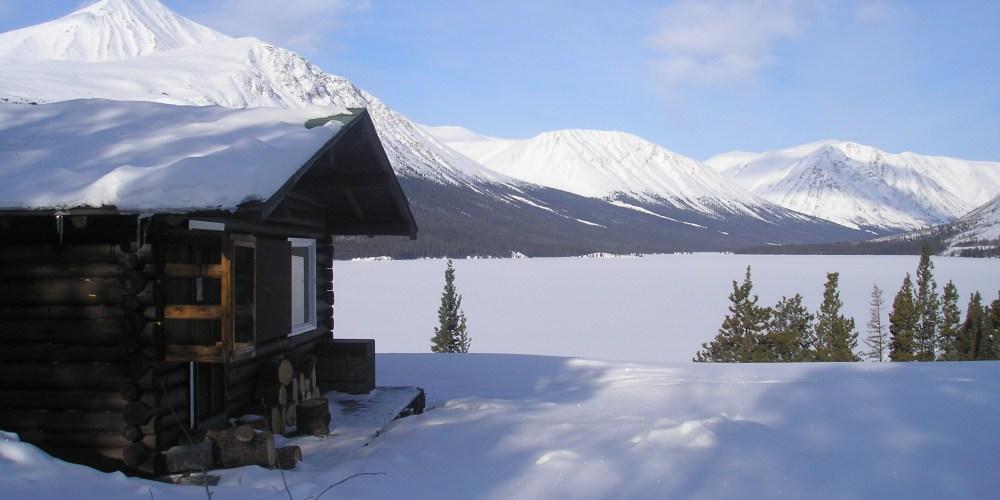 Cabane de trappeur du Yukon