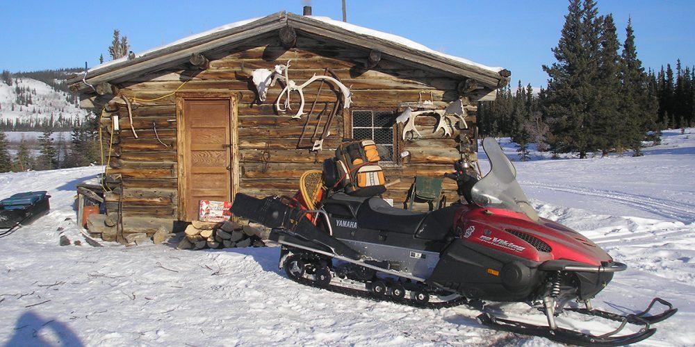 relais motoneige du Yukon