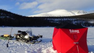 pêche blanche Scout Lake
