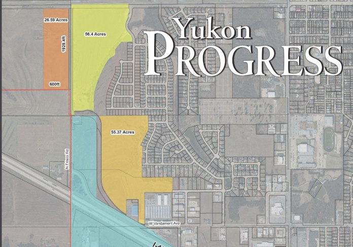 TIF, Yukon Progress, Yukon Review, City of Yukon