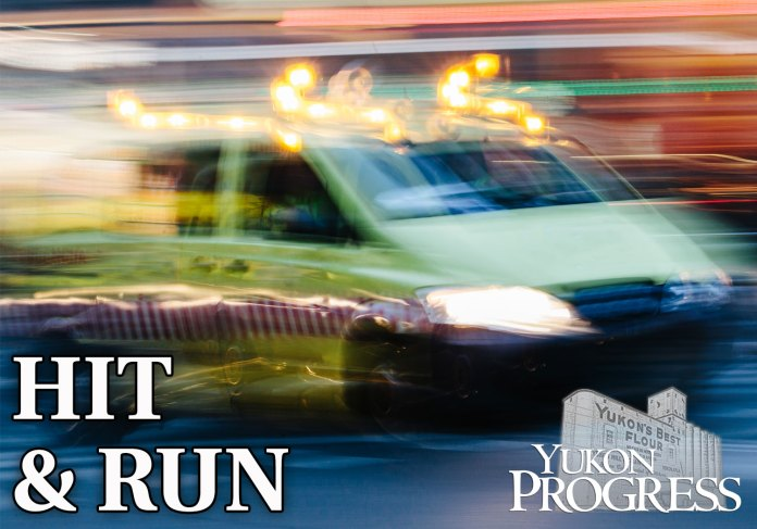 hit and run, Yukon Progress, Yukon Review, Main Street