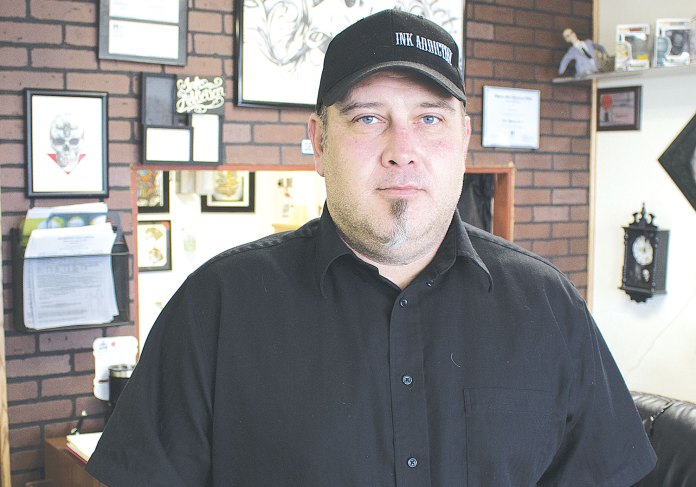 John Reaves, Tattoo Artist, Ink Addition