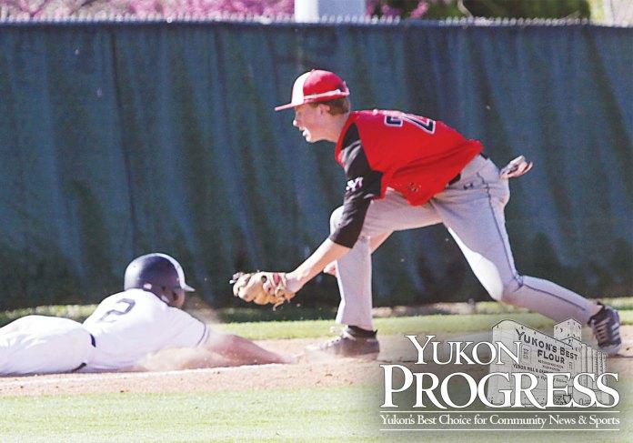 Yukon Progress, Yukon High School, Millers Baseball, Yukon Review