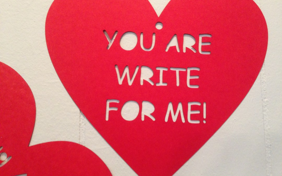 Valentine Cards with the Letter Writing Club
