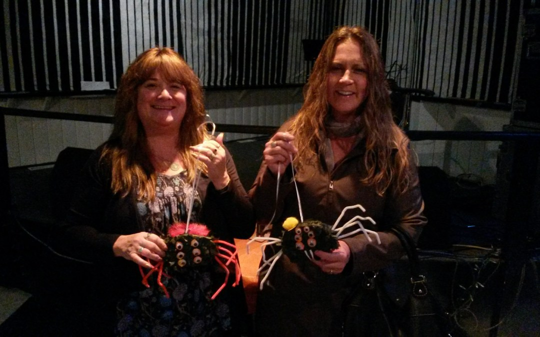 Halloween craft fun at Drinking with Scissors