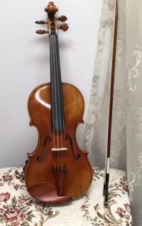 「バイオリンのあごあて」艶を出すにはハンドクリームが良いそうです