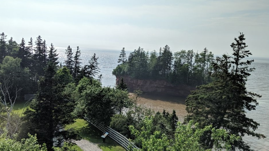 Minas Basin in Nova Scotia - https://yula.ca