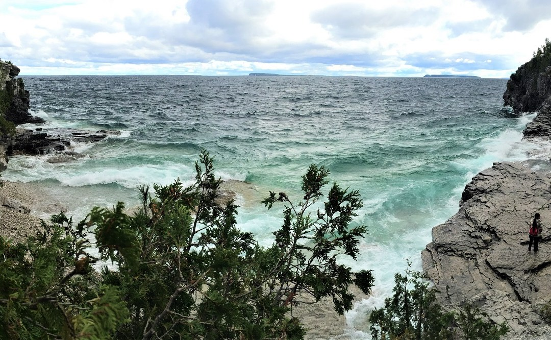 The Cliffs and Caves in Tobermory