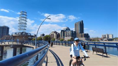 Bike Cam Videos along the Waterfront Trail - https://yula.ca/