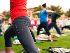 Outdoor Pilates