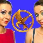 ГОЛОДНЫЕ ИГРЫ. Макияж и прическа ДИСТРИКТ 1 и КАПИТОЛИЙ | Hunger Games MAkeUp and HairStyle