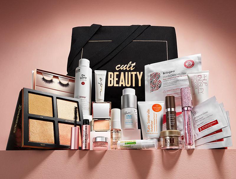 Пример наполнения Cult Beauty Goody Bag Весна 2018