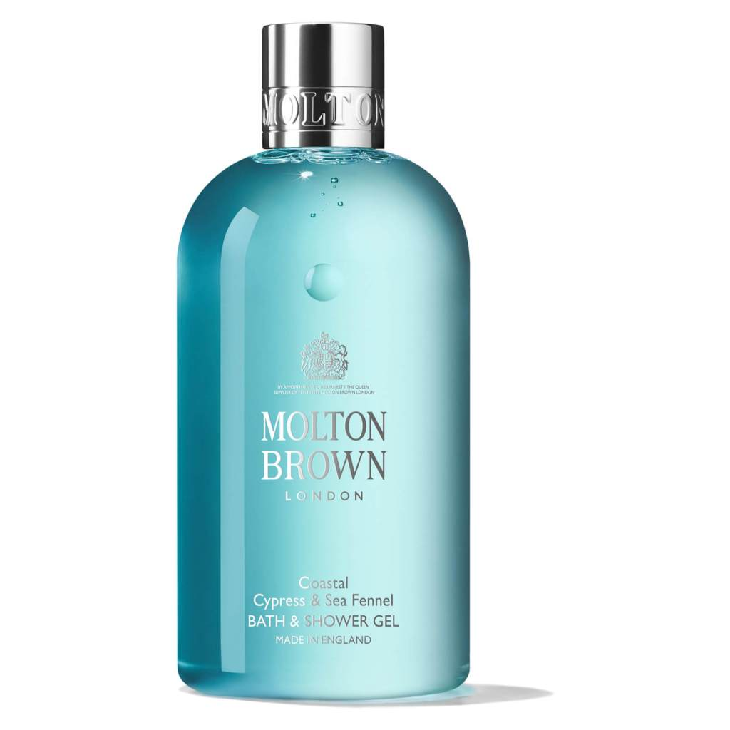 Molton Brown, Coastal Cypress & Sea Fennel Bath and Shower Gel. lookfantastic Beauty Box June 2020