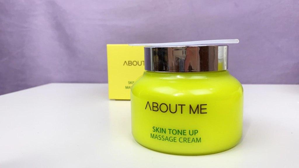 About me, Skin Tone Up Massage Cream