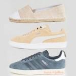 3 пары обуви на распродаже PUMA, ADIDAS, ASOS