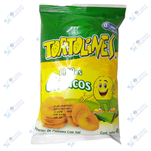 Inalecsa Tortolines Snack Chifles Clásicos 45 g