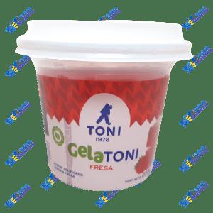 Toni Gelatoni Gelatina en Postre de Fresa 200 ml