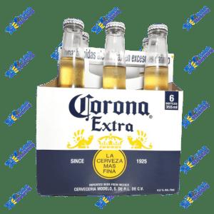Corona Cerveza Extra Fina 355 ml Pack x 6u