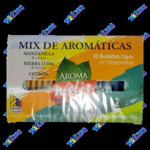 Aroma Melis Te de Hierbas Mix Aromáticas Packx20u 24g