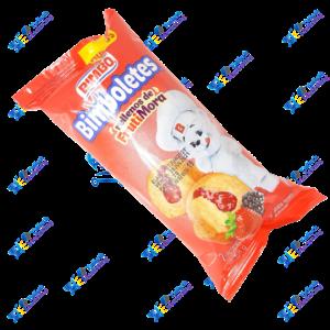 Bimbo Bimboletes Pancake Relleno Frutimora Packx2u 88g