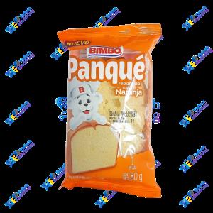 Bimbo Panque Pancake Rebanada Naranja 80g