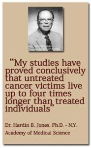 Доктор Hardin B. Jones | Рак - не всегда Рак