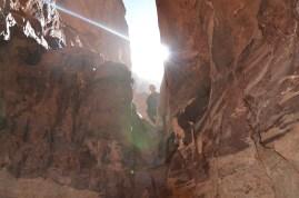 Inside Khazali Canyon, Wadi Rum