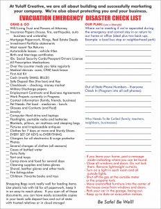 Sample COVID19 Prep Checklist