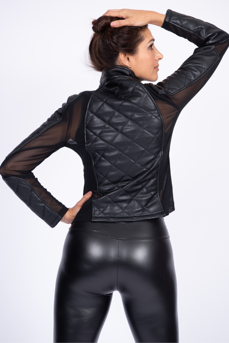 Doll Up Jacket – Black