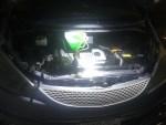 トヨタエスティマ冷却水漏れ修理 ラジエターホース交換