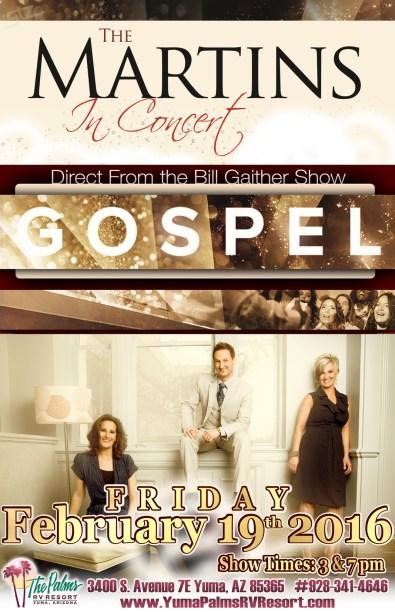 2016-02-19 The Martins Gospel Concert