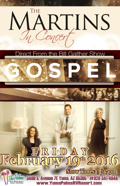2016-02-19 The Martins Gospel Concert