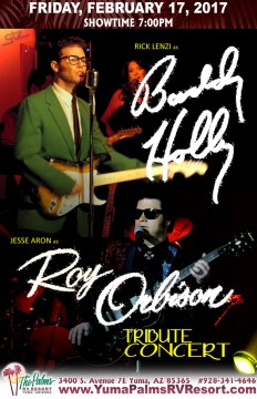 2017-02-17 Buddy Holly & Roy Orbison [SOLD OUT] – Tribute Concert
