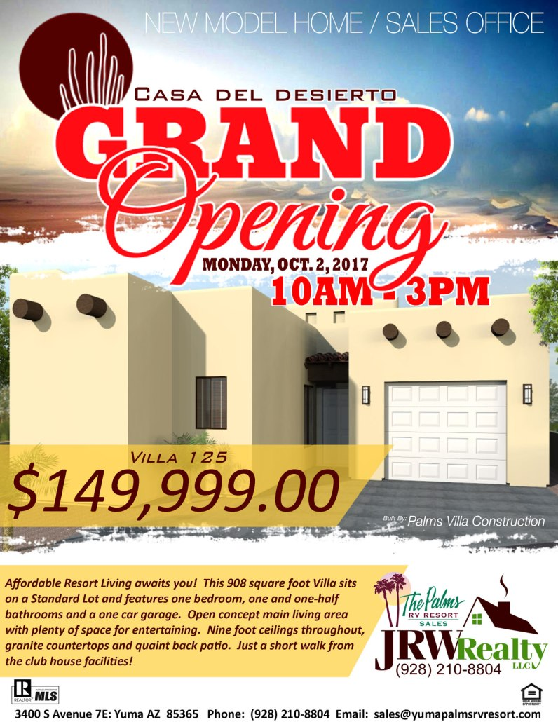 2017-10-02 Villa 125 Grand Opening