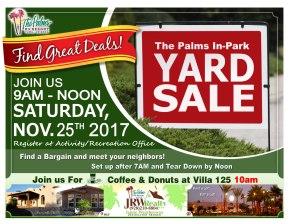 2017-11-25 Yard Sale