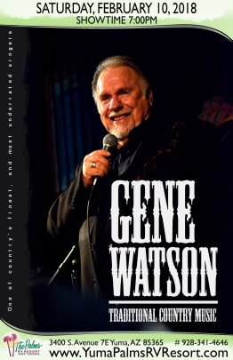 2018-02-10 Gene Watson - Live Concert