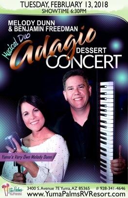 2018-02-13 Musical Duo Adagio Dessert Concert