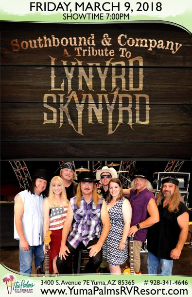 2018-03-09 Lynyrd Skynyrd - Tribute Concert