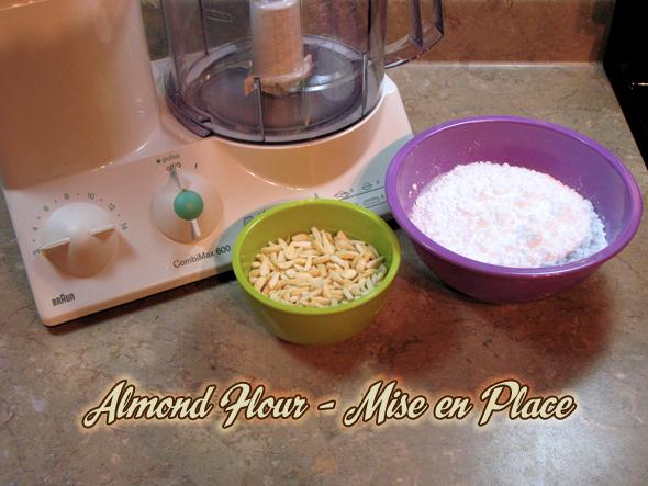 Almond Flour mise en place